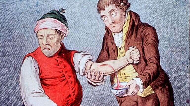 Tratamento sangria pressão alta