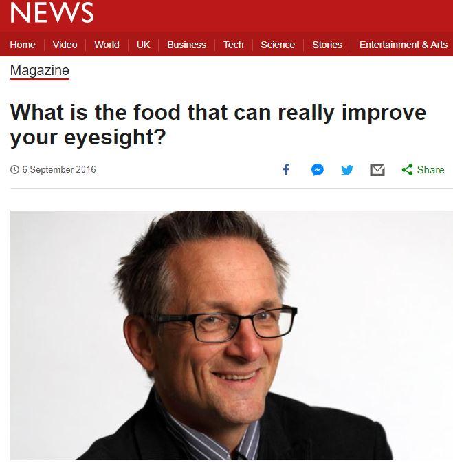 Dr. Michael Mosley BBC
