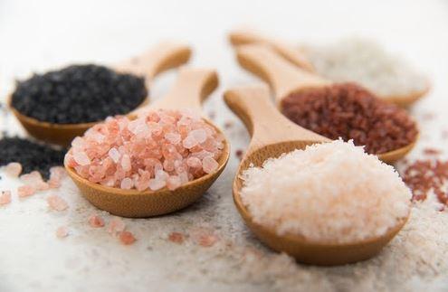sal negro sal do himalaia sal rosa