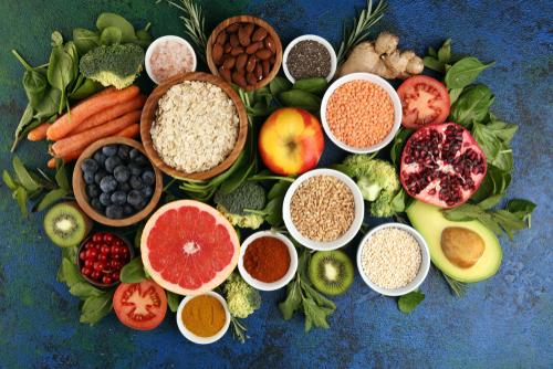 Alimentos e vitaminas