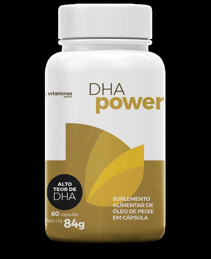 DHA Power, suplemento alimentar do Vitaminas.com.vc