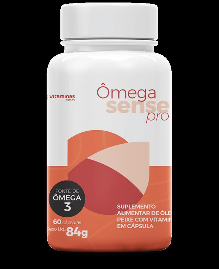 Ômega Sense Pro, suplemento alimentar do Vitaminas.com.vc