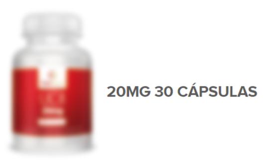 Suplemento para articulações com 20mg de colágeno