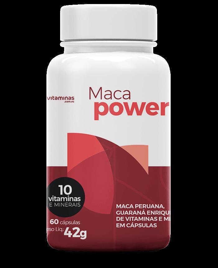 Maca Power, suplemento do Vitaminas.com.vc