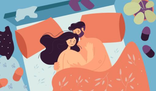 5 posições sexuais que te fazem dormir melhor